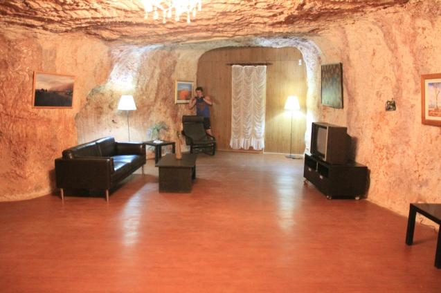 Living underground in Coober Pedy