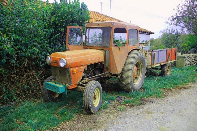 Funny looking tractors