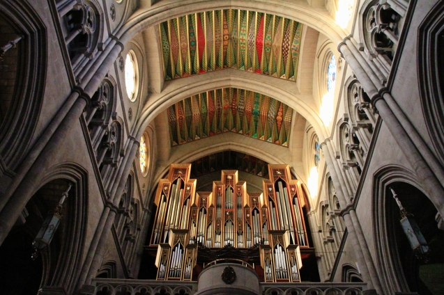 That's some pipe organ!