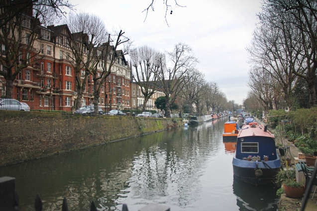 canal in Little venice