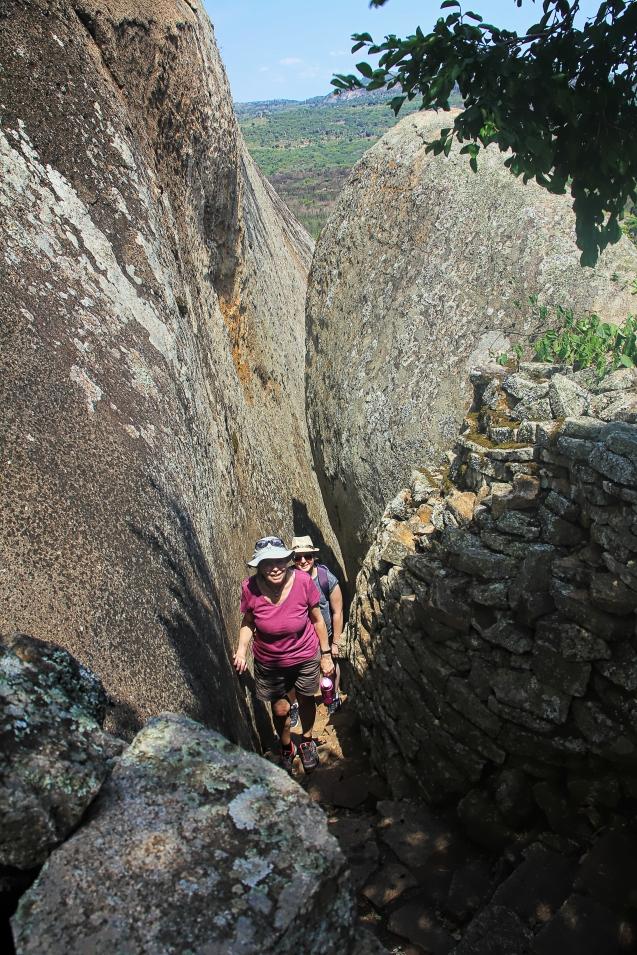 One HOT climb!