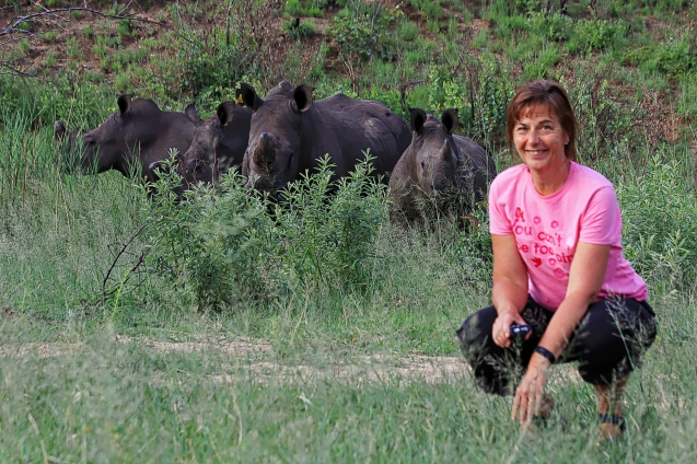 Up close and personal with some rhinos. Matobo National Park, Zimbabwe