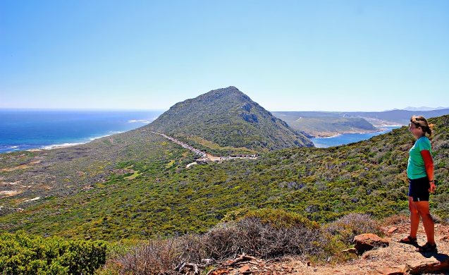View of the Cape of Good Hope from the lighthouse