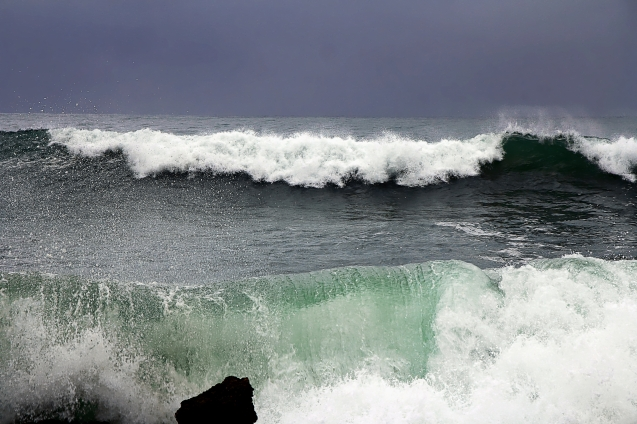 I could watch ocean waves all day.