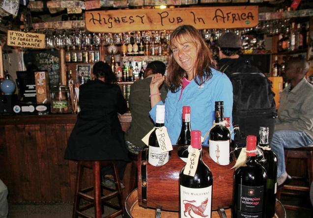Highest pub in Africa :)