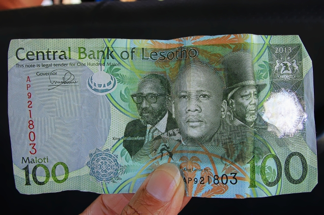 Lesotho currency