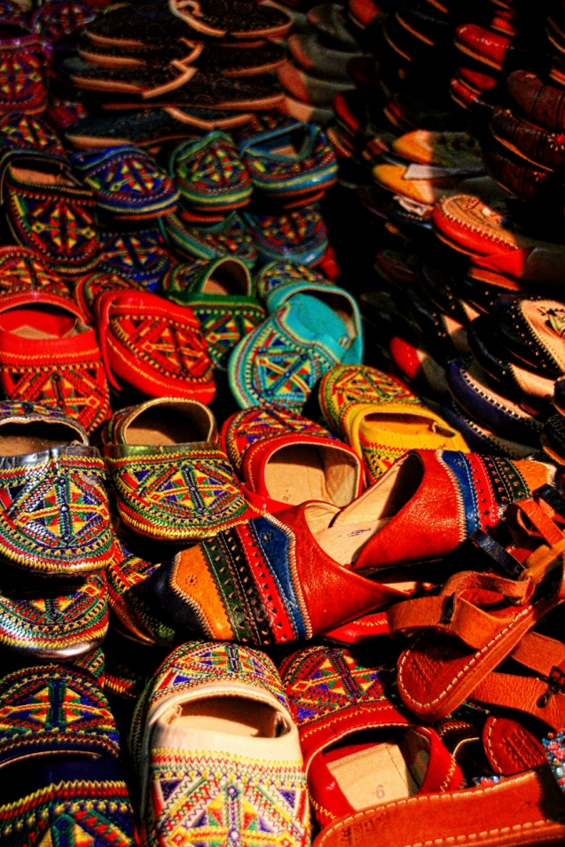 Babouche. Berber shoes