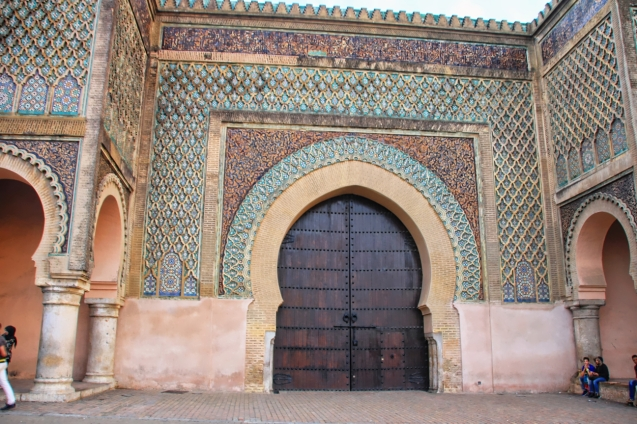 Meknes, the king's palace