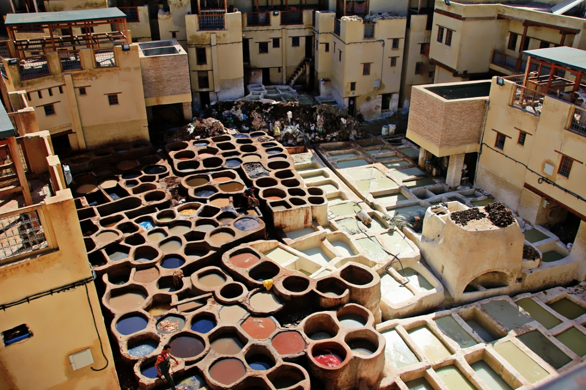 9,400 Alleys of FEZ, Morocco