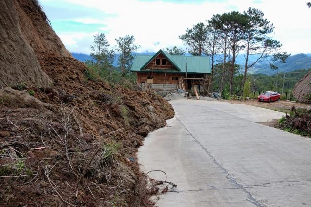 Still some landslides left from the typhoon
