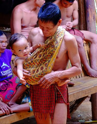 Palawan tribal village