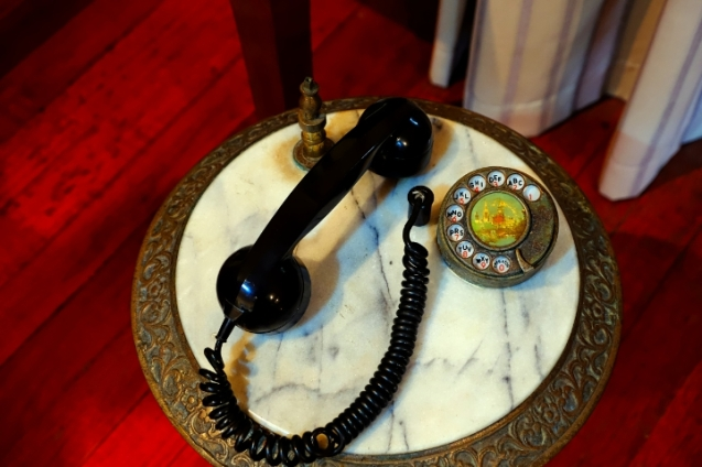 Phone at Agnes Keith House