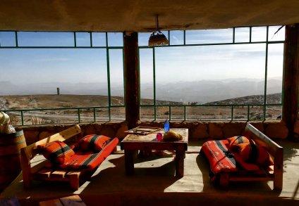 Maktesh Crater, Mitzpe Ramon. Desert Shade Eco Camp